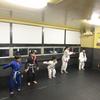 金曜日祝日フルタイムキッズクラス、一般柔術クラス。