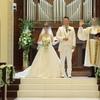 【結婚式当日レポ13】挙式*新郎新婦退場