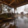 温泉へ行きました。