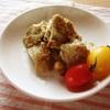 チキンの青唐辛子とカルダモンのクリーム焼き
