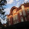 青い空と赤煉瓦『東京駅丸の内駅舎』