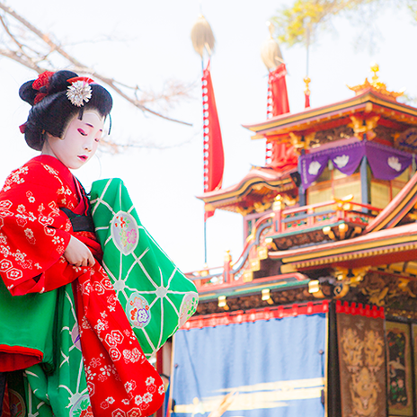 春風に吹かれながら、長浜さんぽ♪ ユネスコ無形文化遺産の「曳山まつり」まもなく開幕!