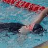 初級背泳ぎとヨガ