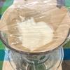 コーヒードリッパーで簡単!クリームチーズみたいな水切りヨーグルト【一人分】