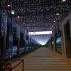 JR博多駅前のイルミネーション!23時で消灯