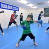 キックボクシングのクラス!!