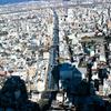 伸び縮みする『黄金の信長像』と『岐阜シティ・タワー43』