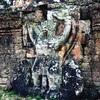 #アンコールワット個人ツアー(600) #プリヤカーン寺院のおすすめはガルーダの石像です。