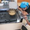 5年生:家庭科 ご飯を炊いておにぎりに①