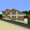 【Minecraft】木の豪邸を作る① 外装編【コンパクトな街をつくるよ26】