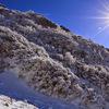 九州に来たら一度は見てほしい 冬の由布岳