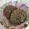 老化防止の黒米パン
