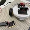 2021/05/28 micro:bitを用いた「くるくる踊るラジコンロボットカー」作製