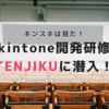 kintone開発者を目指して 開発者研修TENJIKU参加レポート vol.6&7
