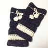 かぎ針編みで手作りレッグウォーマー編んでみたよ