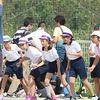 加木屋コミュニティ運動会⑤ 5・6年生徒競走