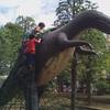 恐竜大好きなろーくんと自転車も乗れる北沼公園にいきました。