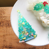 【UVレジン作り方】モールドで立体クリスマスツリーの作り方