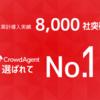 導入実績No.1人材紹介プラットフォーム「クラウドエージェント」が法人累計導入実績8,000社を突破!