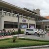 カンボジア日本人材開発センター(CJCC)に行きました。