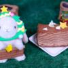 【クリスマス ブッシュドノエル】ローソン 12月14日(土)新発売、コンビニ スイーツ 食べてみた!【感想】