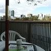水沿いのカフェ①大川沿いのマクド