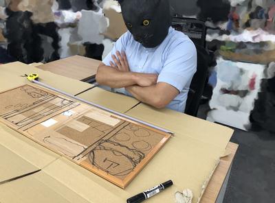【全日本模型ホビーショー】ねこぶそうジオラマ制作記①