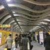新・渋谷銀座線ホームとドラえもん