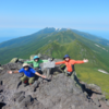 2020-7-18~21 羅臼岳(1660.2㍍)・硫黄山(1562.5㍍)