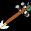 子ネズミ、矢をかじる