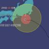 こんな変な進路を取る台風は初めてです。要注意です。