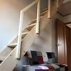 危ないロフトハシゴを固定階段に変えました
