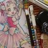 塗り絵本紹介】HUGっと!プリキュアぬりえを色鉛筆で塗ってみました☆