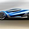マセラティMC63 ラ・フェラーリをベースにしたマセラティのスーパーカーのイメージデザイン