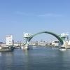 水都大阪を守る水門。