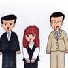 四菱銀行の社員たち(その1)