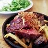 お肉とワイン 関内ビストロ ZIP で分厚いランプ肉ランチ @関内