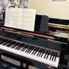 グランドピアノ弾いてきました
