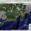 PlaceEngineの位置ログをGoogle Maps上にプロット