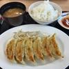帰りの高速で浜松餃子を食べました。 @静岡  浜松SA  浜ちゃん
