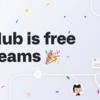 GitHubがチームでも無料で利用できるように