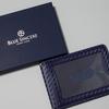 Blue Sincere(ブルー シンシア)カーボンレザーパスケース