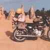 毎日更新 1983年 バックトゥザ 昭和58年11月11日 オーストラリア一周 バイク旅 140日目  23歳 有袋類会 税金還付 ヤマハXS250  ワーキングホリデー ワーホリ  タイムスリップブログ シンクロ 終活