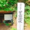 【甘露法水】廃道の滝へ、密を避けて湧水を汲みに