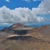 「ブルー レイク(Blue Lake)」を遥か向こうに見ながらの折り返し~「トンガリロ アルパイン クロッシング(Tongariro Alpine Crossing)」