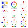 【配色の基本】面積比(メイン、アクセント、ベース)と色相分割【Adobe Color CC】
