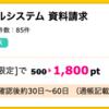 【ハピタス】生協の宅配 パルシステム 資料請求が1,800pt(1,800円)にアップ!