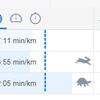 ランニング開始後、3年目の10キロレースタイムは6分短縮