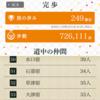 東海道53次、完走 吉野家アプリ