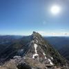 石鎚山(1982m) 冬季登攀